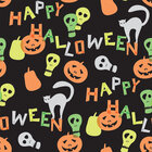 Halloween • Seasonal • Designtapeten • Berlintapete • Schwarzes Halloweendesign (Nr. 13583)